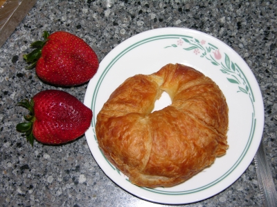 Berries and Croissant