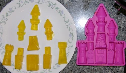 Gummy castle