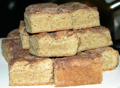 Brown Eyed Baker's Snickerdoodle Blondies