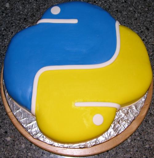 Python cake 1