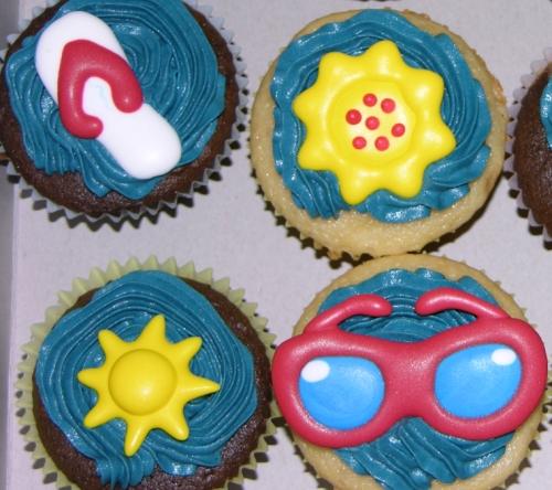 Summer Cupcakes Detail 2