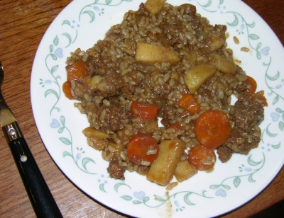 Hearty Skillet Dinner - Plated