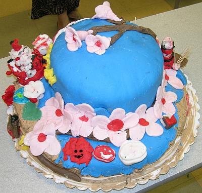 Cherry Blossom Cake 2