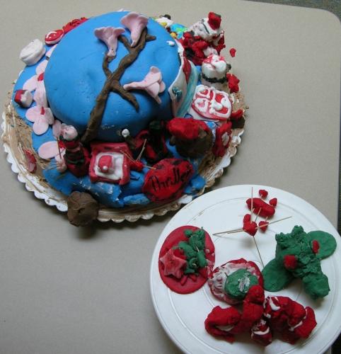 Cherry Blossom Cake 4