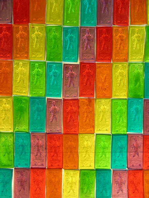 gummy carbonite stained glass