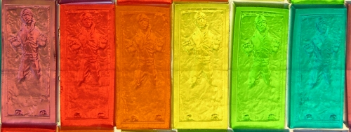 rainbow gummy bar of solos