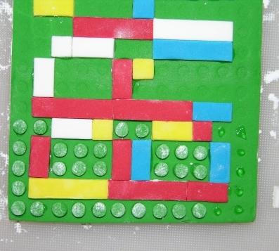Applying Lego Bumps