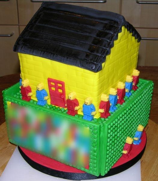 Lego Cake Front