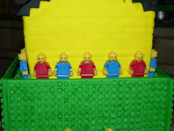 Lego Cake - Side