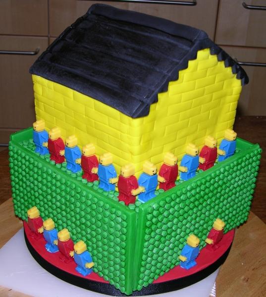Lego Cake - Corner