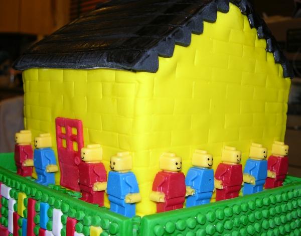 Lego Cake - House Detail