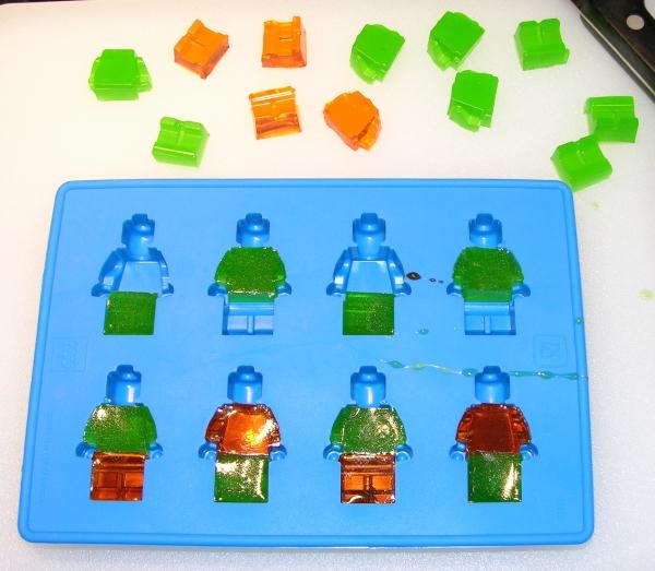 Cutting LEGO Minifig Parts