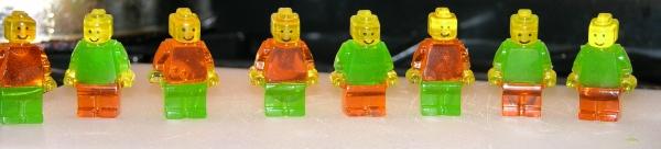 Gummy LEGO Minifigs