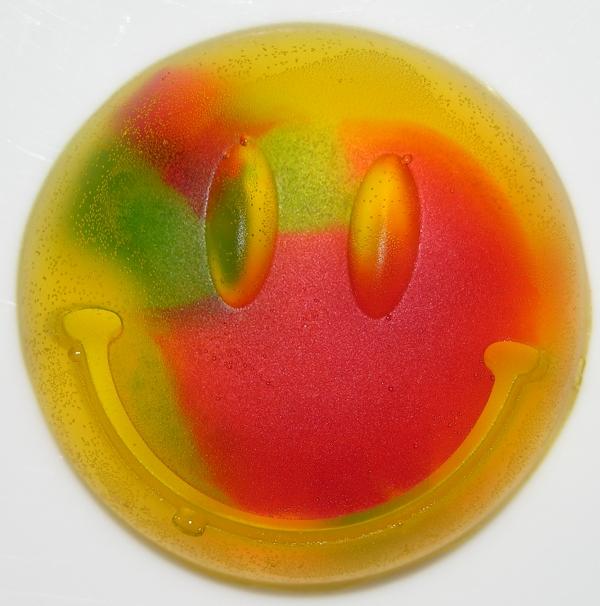 Multicolour Gummy Face - Front