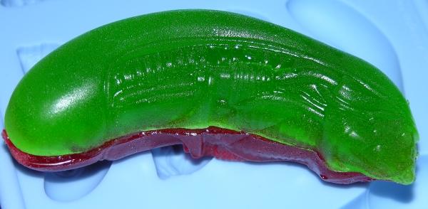 Gummy Alien Head - Green side