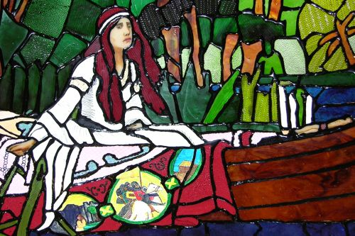 Lady of Shalott - Detail