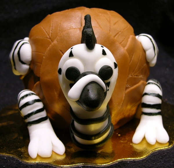 Mime Turkey Cake