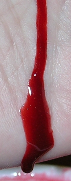 Fake Blood - Detail