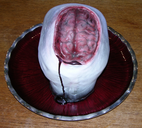leaky brain cake