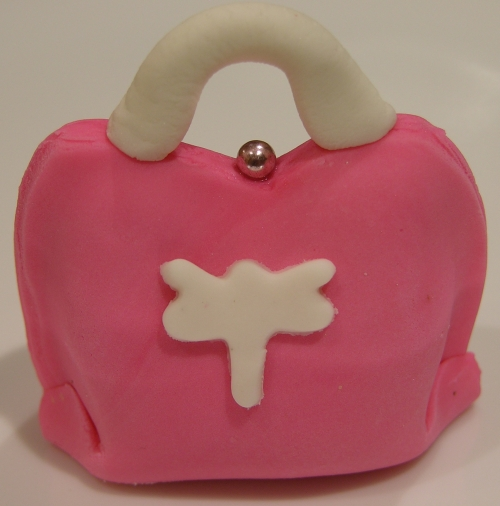pink dragonfly purse