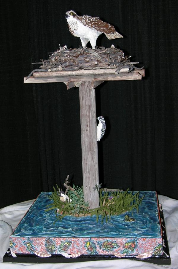 Falcon Cake - Full
