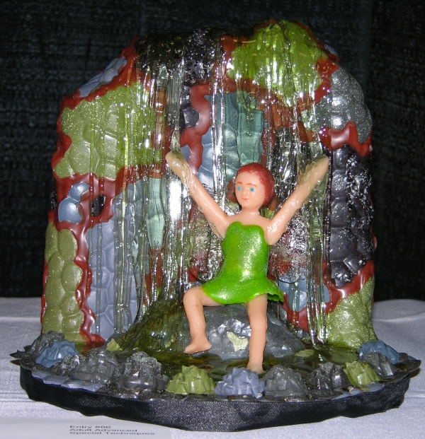 Gummy Fairy and Waterfall