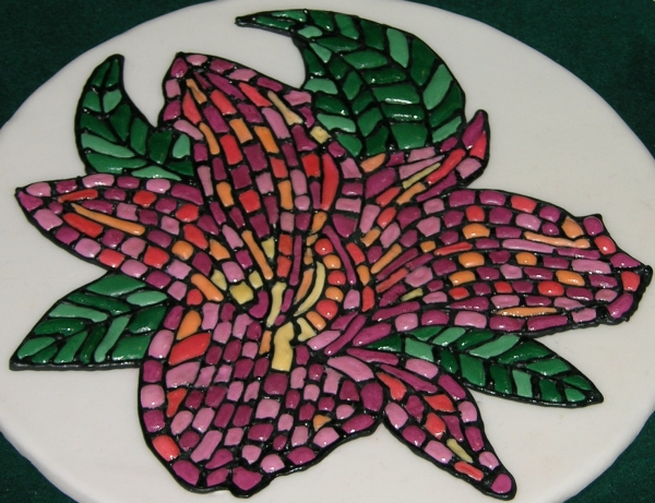 Flower Mosaic - detail