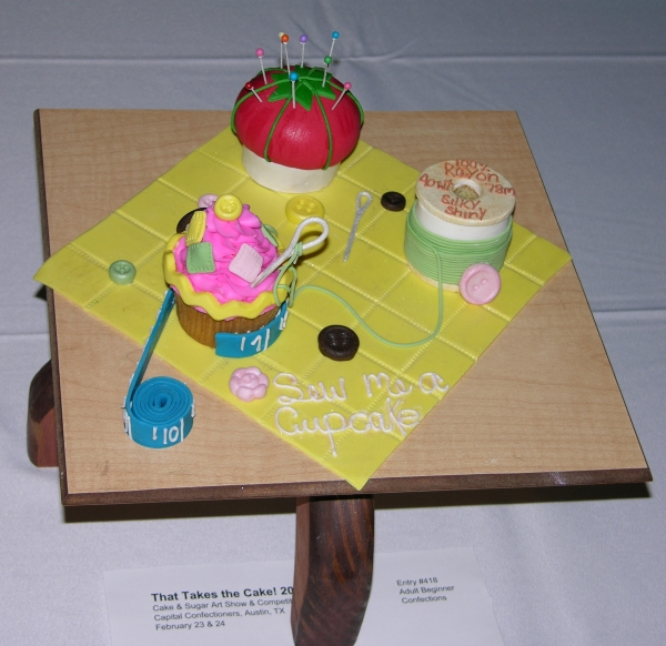 Pincushion confections