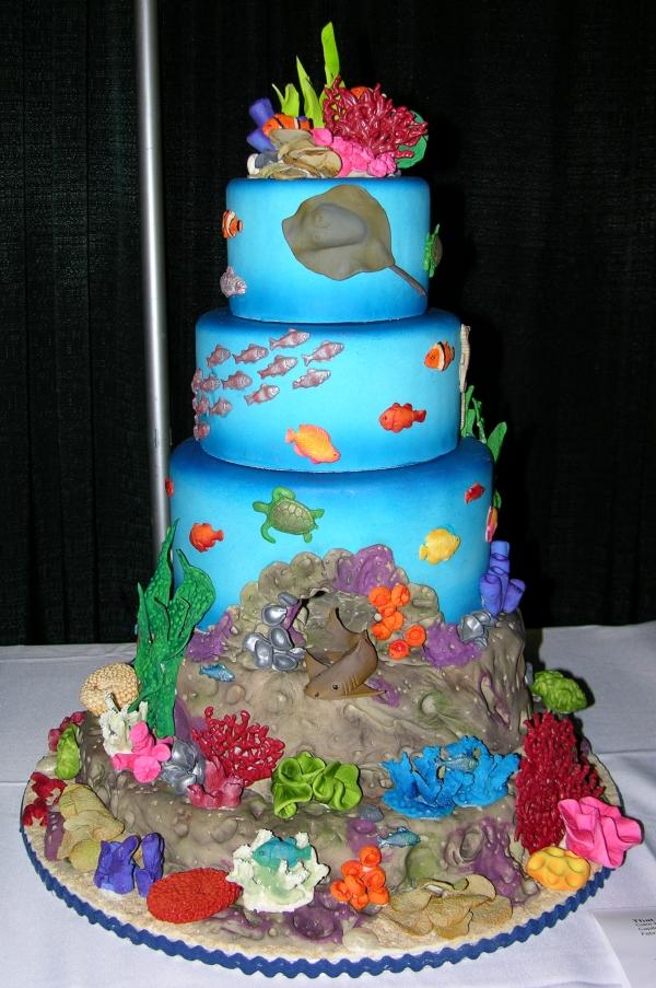 Under Sea cake