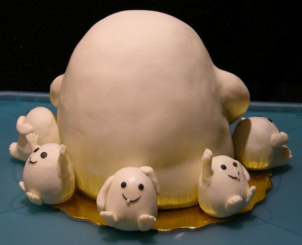 Adipose Cake Finished - Back
