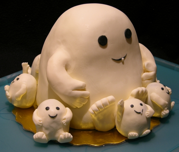Adipose Cake Finished - Front Left