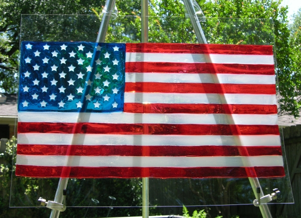 gummy US flag 13