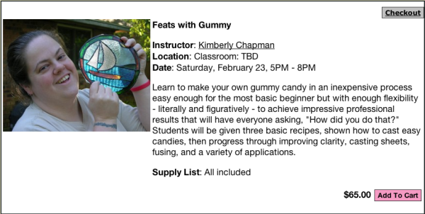 Feats with Gummy, Saturday Feb 23, 5-8 pm, $65