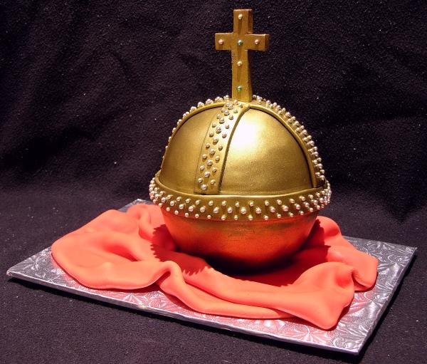 Holy Hand Grenade Cake
