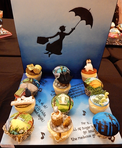 Mary Poppins cupcakes
