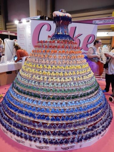 rainbow cupcake dress