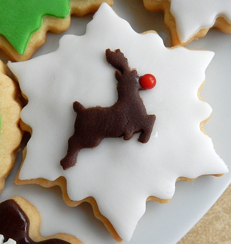 brown deer cookie