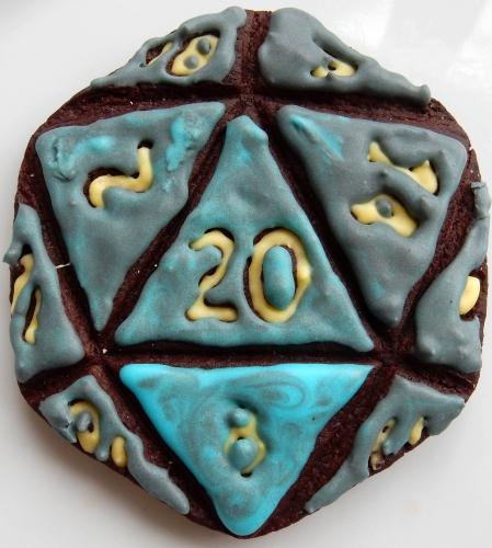 D20 cookie