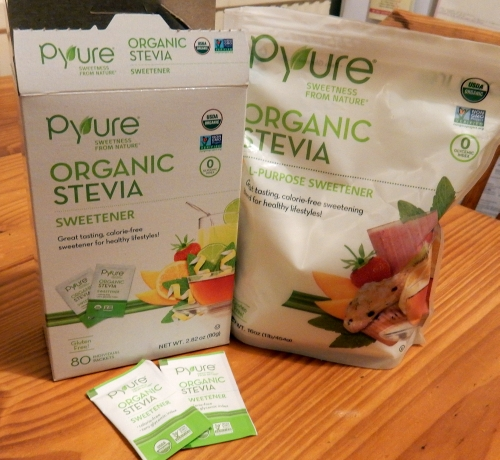Pyure Organic Stevia packs