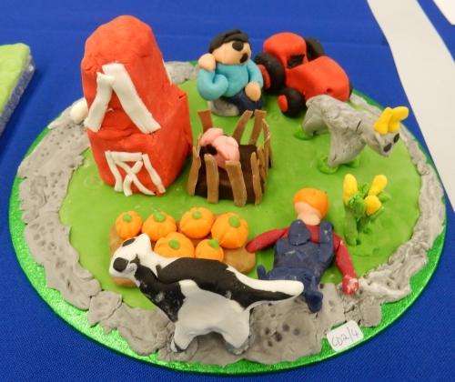 Peo's farm cake