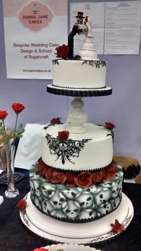 goth wedding 1