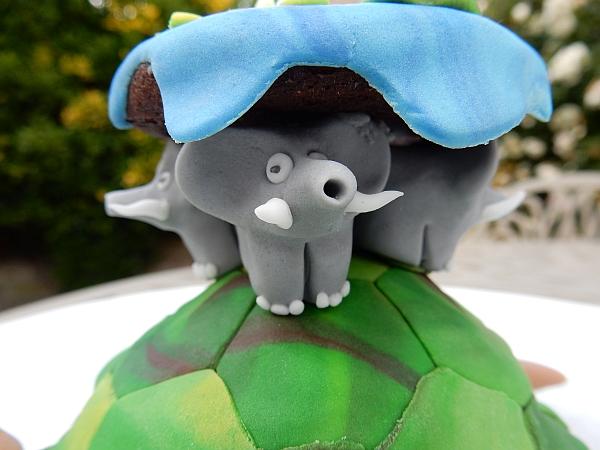 panicked elephant