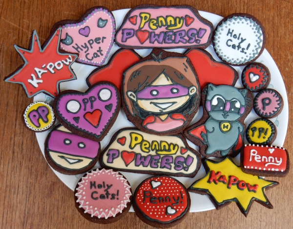 penny powers cookie set