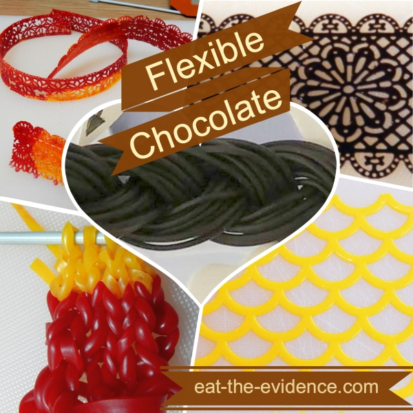 flexible chocolate promo graphic