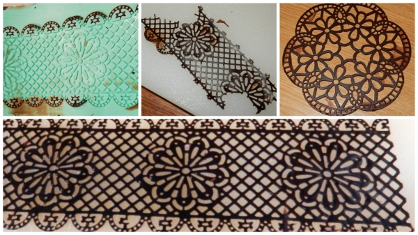 testing lace recipes