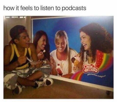 podcast meme